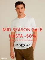 Ofertas de Mango Man, Mid Season Sale hasta -50%