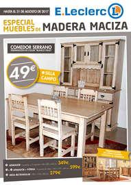 Especial muebles de madera maciza