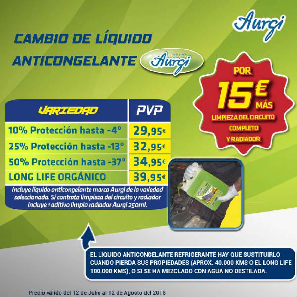 Comprar Anticongelante Barato En Fuengirola Ofertia