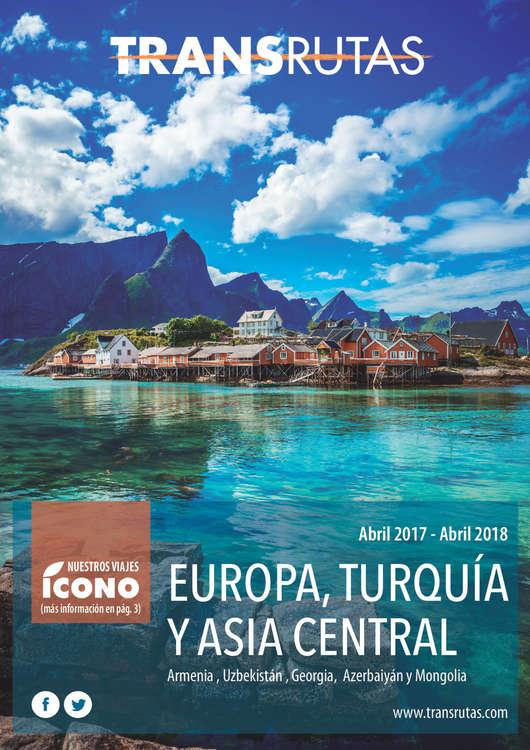 Ofertas de Transrutas, Europa, Turquía y Asia Central 2017