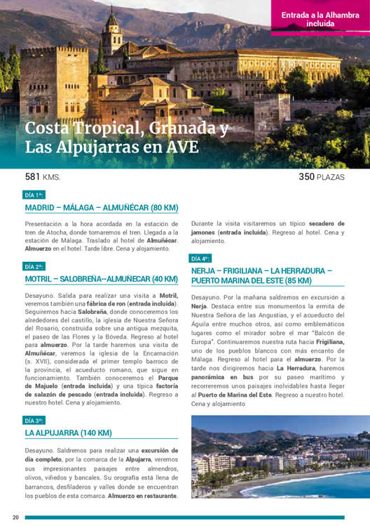 Ofertas de Halcón Viajes, Rutas Culturales 2019