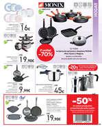 Ofertas de Carrefour, 2ª unidad -70% en más de 3.000 artículos