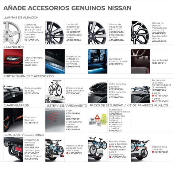 Ofertas de Nissan, Accesorios Nissan Micra