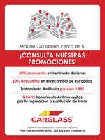 Ofertas de Carglass, ¡Consulta nuestras promociones!