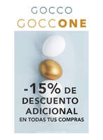 Ofertas de GOCCO, Gocco One -15% dto adicional