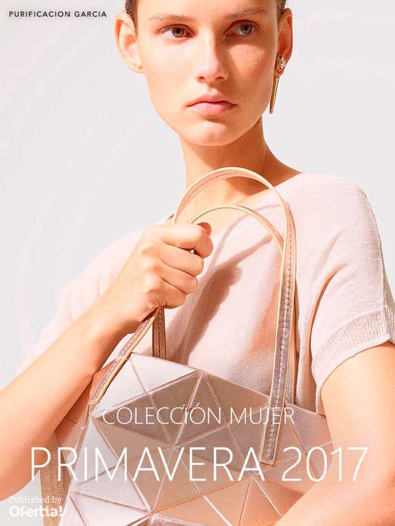 Ofertas de Purificación García, Colección Mujer. Primavera 2017
