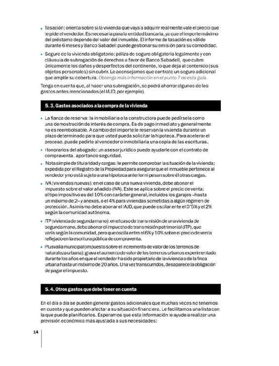 Ofertas de Banco Sabadell, Todas las respuestas sobre la adquisición de tu vivienda.