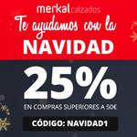 Ofertas de Merkal, ¡Te ayudamos con la Navidad! 25%
