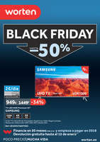 Ofertas de Worten, Black Friday, hasta -50%