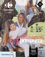 Ofertas de Carrefour, Dale color a tu primavera