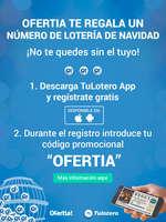 Ofertas de Ofertia, Ofertia te regala un número de lotería de Navidad