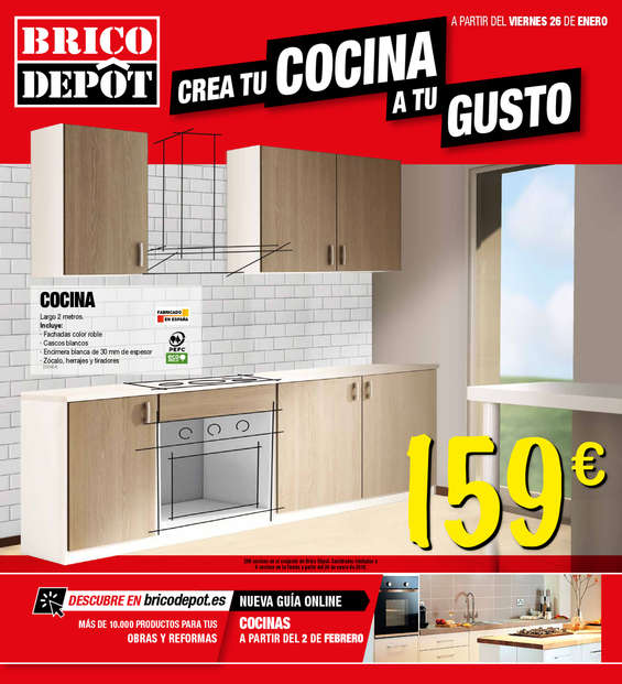 Bricodepot ofertas cat logo y folletos ofertia for Crea tu casa online