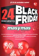 Ofertas de Masymas, 24% de descuento Black Friday