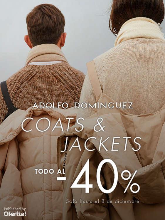Ofertas de Adolfo Domínguez, Coats & Jackets. Todo al -40%
