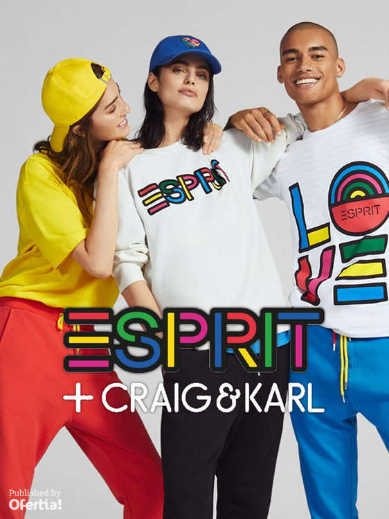 Ofertas de Esprit, Colección Craig & Karl
