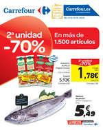 Ofertas de Carrefour, 2ª unidad -70%