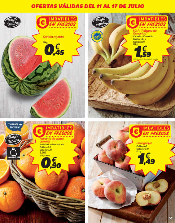 Ofertas de Carrefour, 2a unidad -70% en más de 2.000 artículos