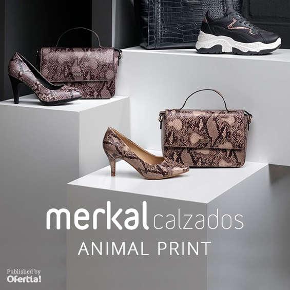 Ofertas de Merkal, Animal print