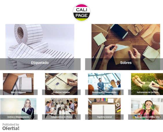Ofertas de Calipage, Productos