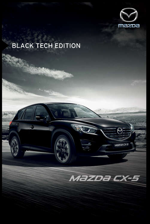Ofertas de Mazda, Mazda CX5 Black Tech Edition