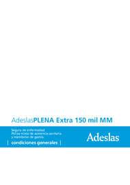Adeslas Plena Extra 15 mil MM