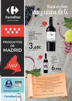 Ofertas de Carrefour, Nuestros vinos muy cerca de ti
