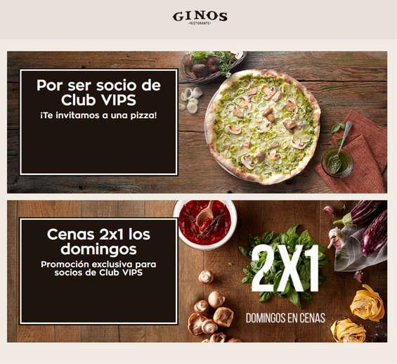 Ofertas de Ginos, Promociones