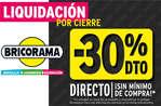 Ofertas de Bricorama, Liquidación
