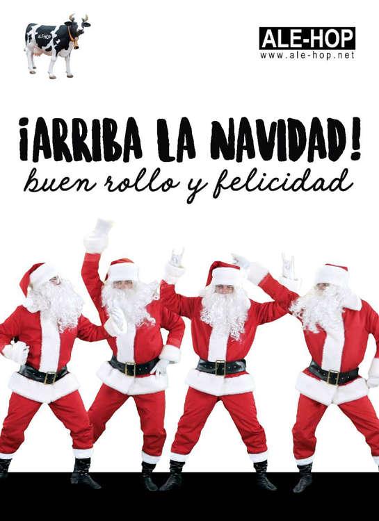 Ofertas de Ale-Hop, ¡Arriba la Navidad!