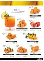 Ofertas de Makro, Frutas y verduras
