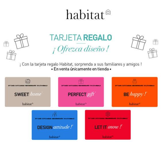 Ofertas de Habitat, Tarjeta regalo