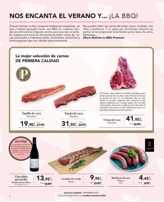 Ofertas de Supermercados Sánchez Romero, Junio