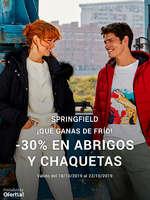 Ofertas de Springfield, -30% en abrigos y chaquetas