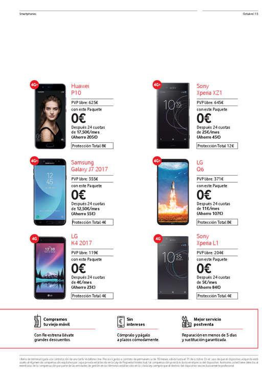 Ofertas de Vodafone, Octubre - Ahora tus vídeos y mapas sin gastar datos