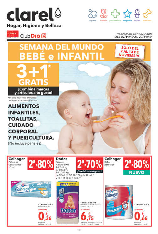 Ofertas de Clarel, Semana del mundo bebé e infantil