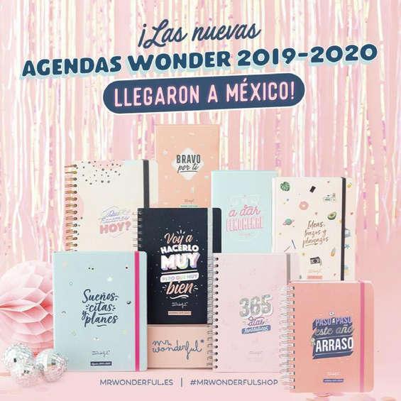 Ofertas de Mr Wonderful, Agendas 2019-2020