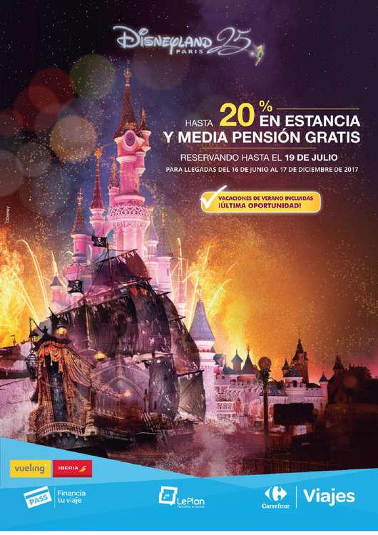 Ofertas de Carrefour Viajes, Hasta 20% en estancia y media pensión gratis
