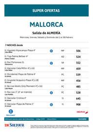 Mallorca febrero