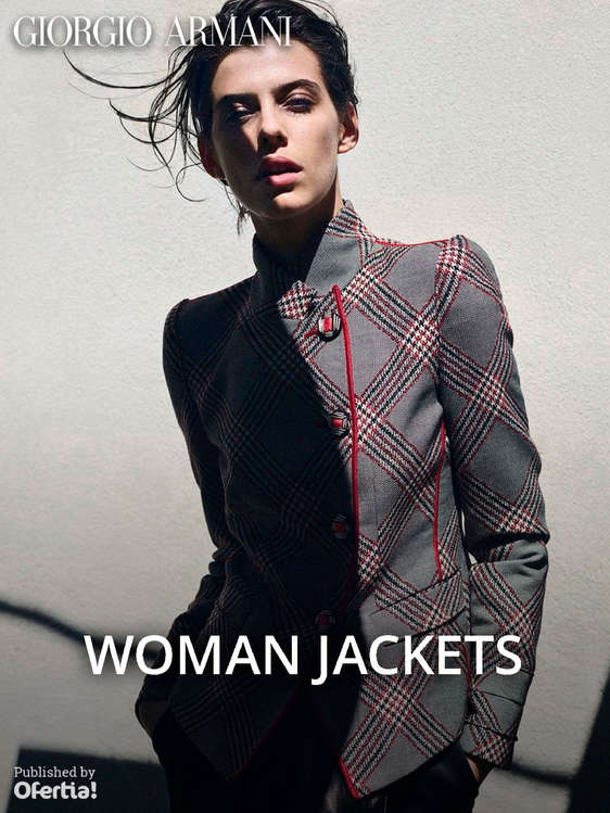 Ofertas de Giorgio Armani, Woman Jackets
