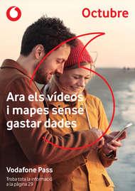 Octubre - Ara els vídeos i mapes sense gastar dades