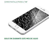 Cambio pantalla Iphone 6